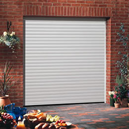 Garador GaraRoll roller garage door in white